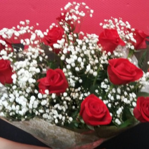 Buque rosas colombianas
