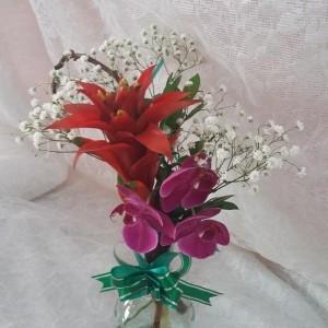 orquidea e bromelia