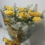 rosas botoes amarela