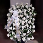 Coroa de Flores com Orquídeas