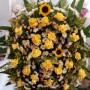 Coroa de Flores do Campo com Rosas4