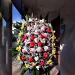 coroa rosas importadas